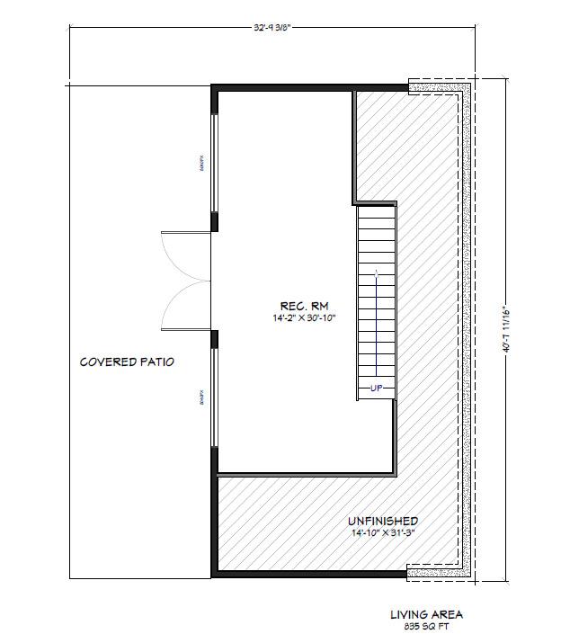 PVE Lot 4 Basement Floor Plan