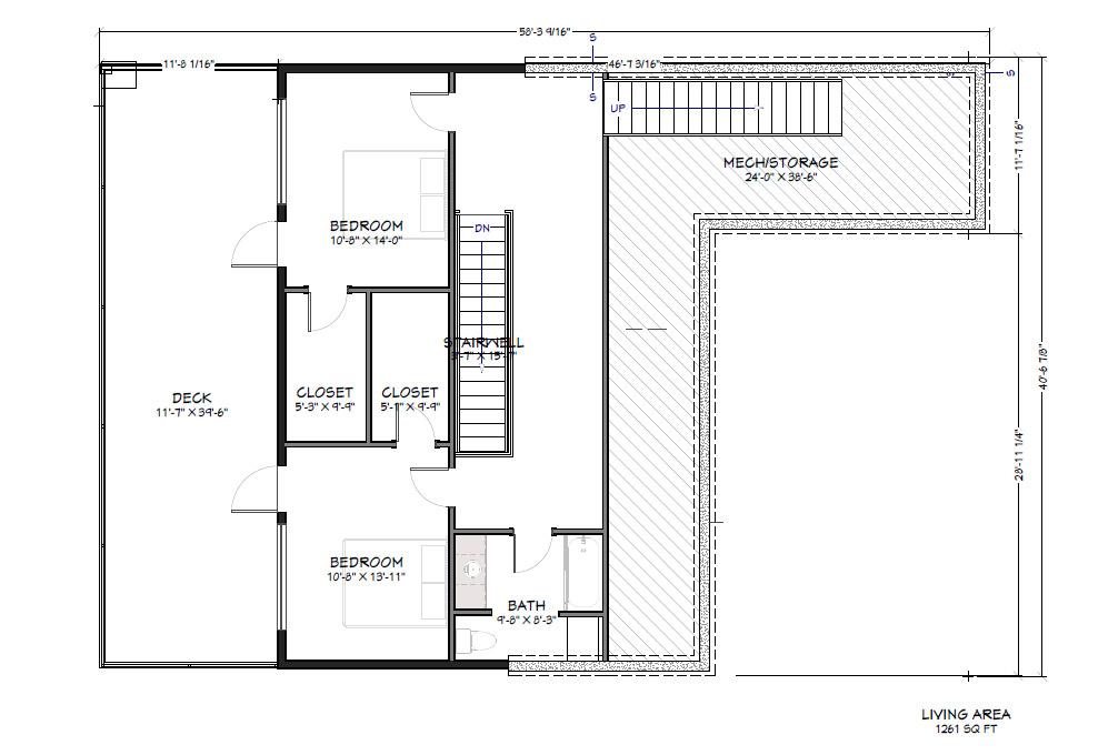 PVE Lot 4 Mid level Floor Plan
